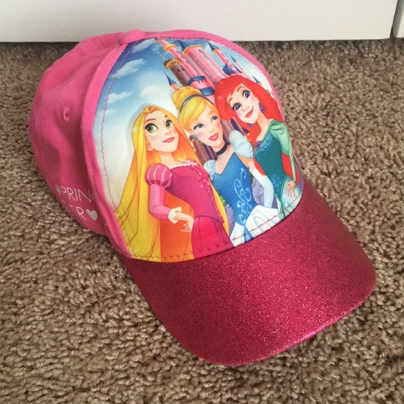 13383aaea30 Disney Other - 🎀 Disney Princess girls 3D Baseball Cap Hat
